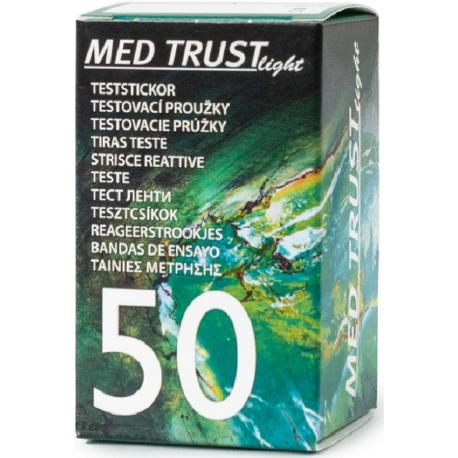 Teste glicemie MED TRUST Light